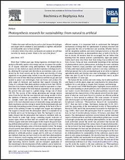 Biochimica et Biophysica Acta 1817 (2012) 1107–1109